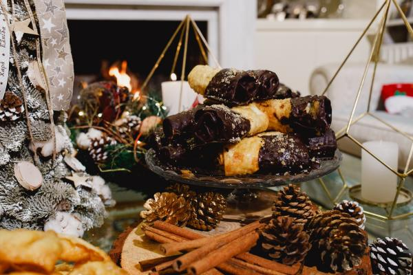 Δίπλες Σοκολάτας Κανάκης | χριστουγεννιάτικα - γλυκά |